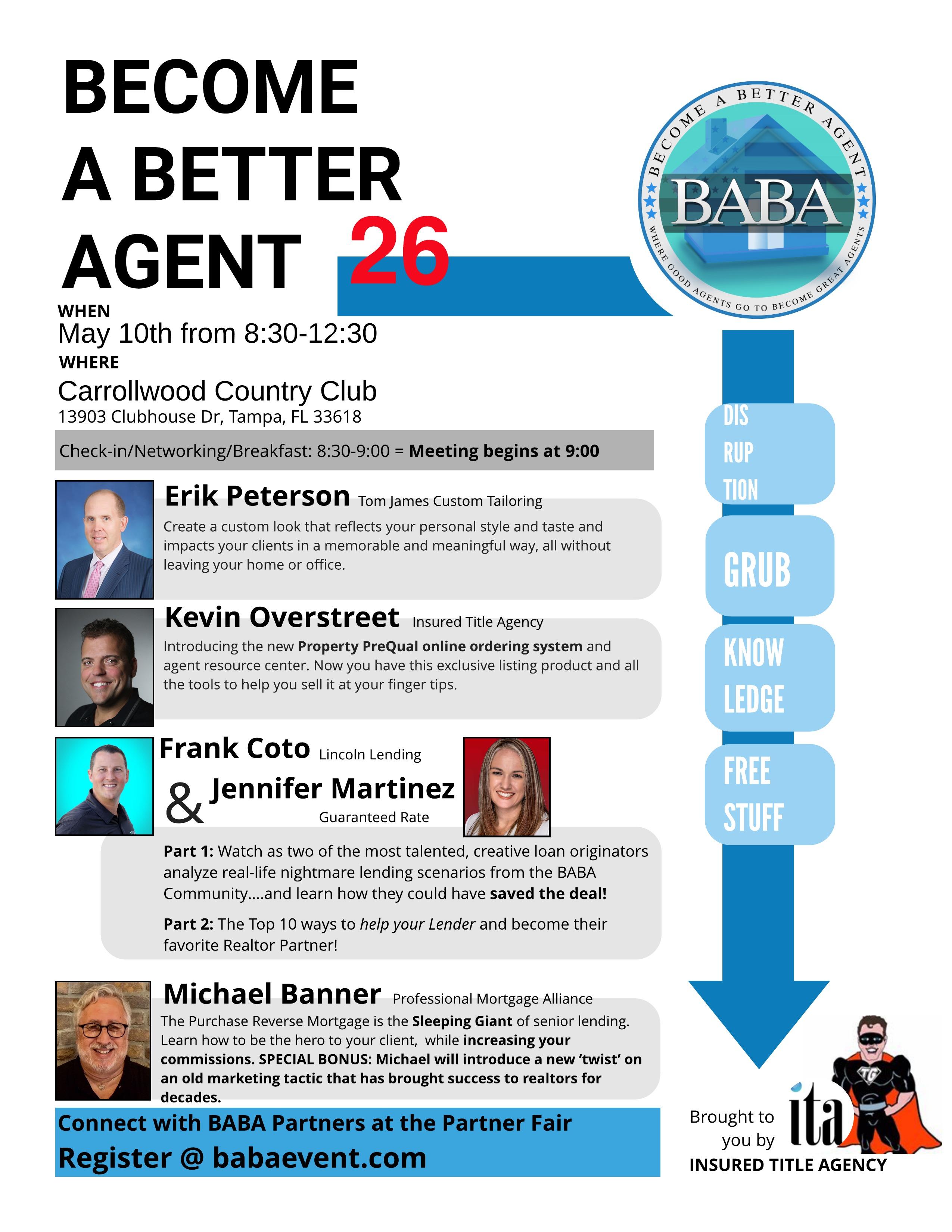 BABA26 Flyer